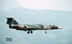 2L F104G 20-33 MM6545 1983