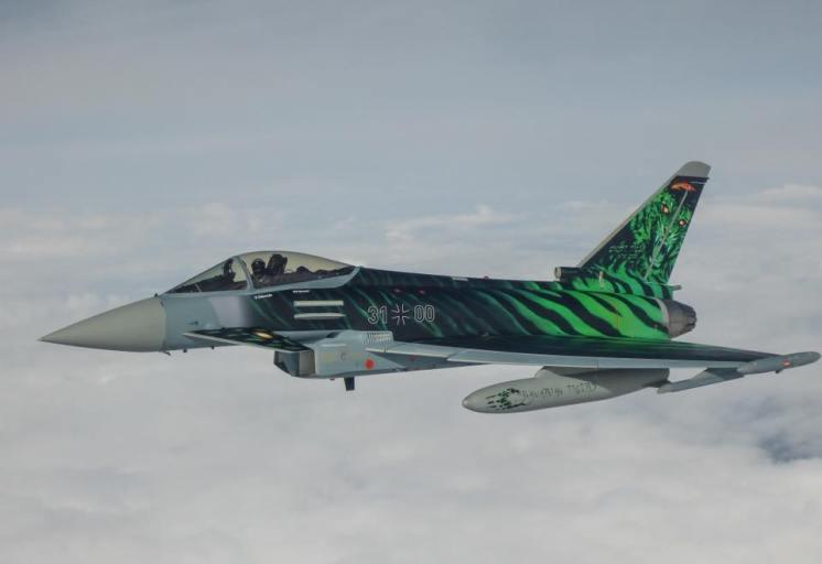 Eurofighter TyphoonTktLwG74 Bavarian Tigers - NATO Tiger Meet 2018