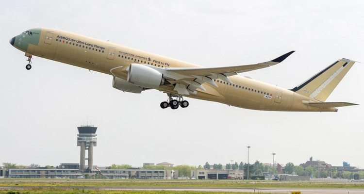 A350-900 ULR Singapore Airlines