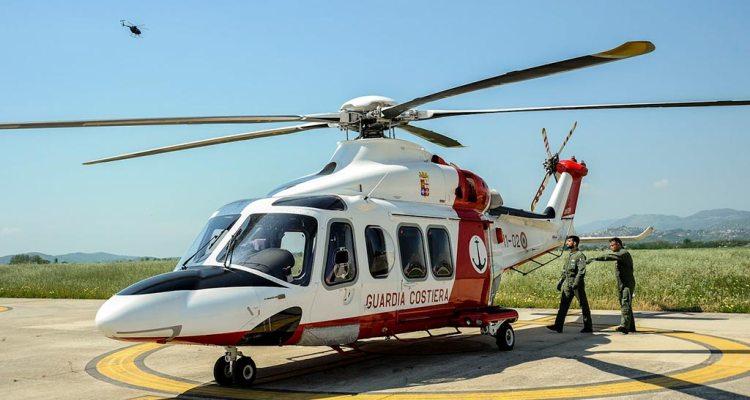 piloti AW139 Guardia Costiera si addestrano al 72° Stormo AM