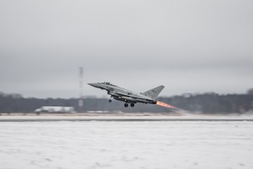 Eurofighter italiani in estonia