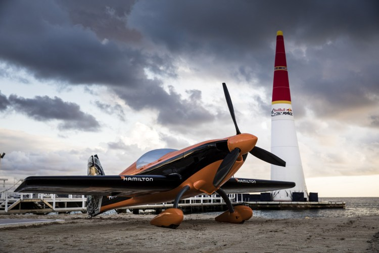 Nicolas Ivanoff's Red Bull Air Race 2018