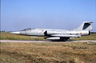 F-104S.ASA-M 6735 (9-50) X°Gr. Grazzanise 25.08.1999