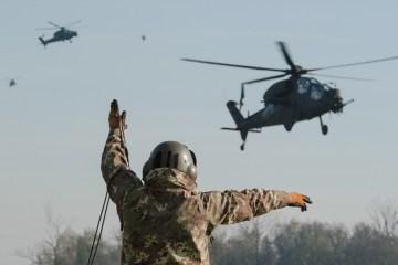 Esercitazione CAEX I 2018 Aviazione Esercito Italiano