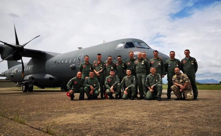 P-72A ed equipaggio 41° Stormo rischierato a Decimomannu per JS18 (2)