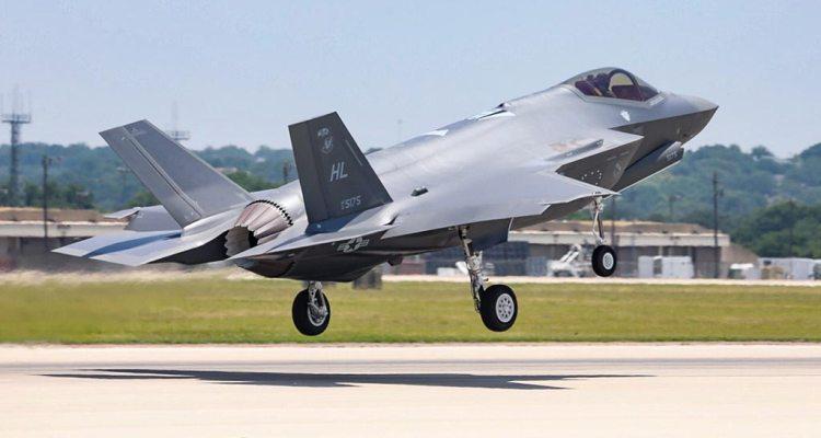 300° F-35A Us Air Force Hill AFB