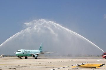 Cyprus Airways Airbus A319 Verona Catullo
