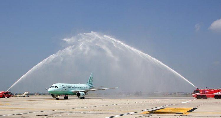 Cyprus Airways Airbus A319 Verona Catullo