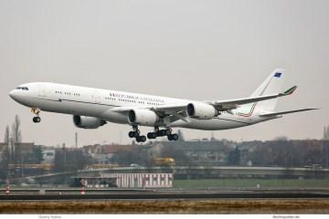 Airbus A340-500 I-taly Repubblica Italiana