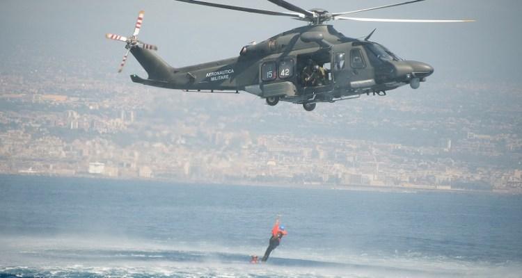 Recupero Naufrago HH-139 Aeronautica Militare