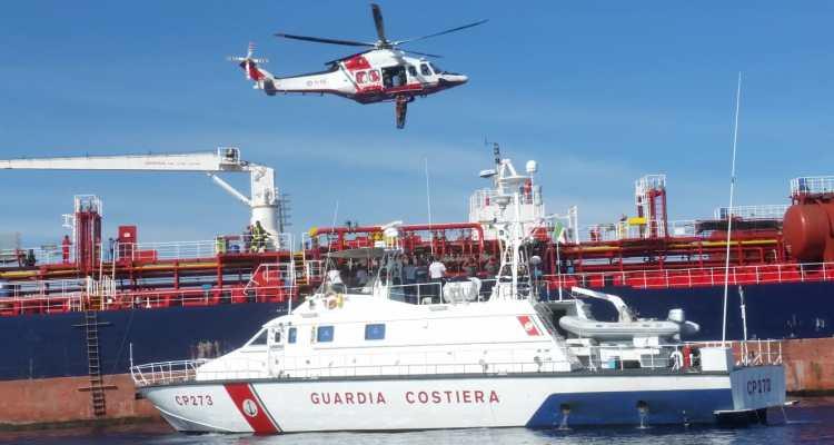 elicotteri AW-139 guardia costiera esercitazione RAMOGE POL 2018