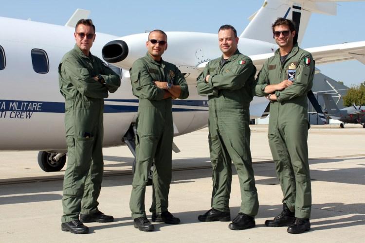 Equipaggi di volo del CAE MC Aeronautica Militare