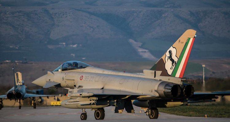 Eurofighter Typhoon Aeronautica Militare al TLP