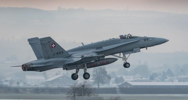 F-18 Hornet Forze Aeree Svizzere