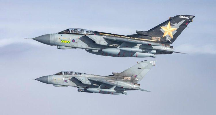 RAF Tornado GR4 Farewell