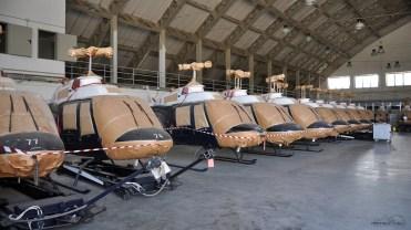 FUSILLI (1) Alcuni dei 22 AB-206 B1 ceduti all'aviazione dell'esercito argentino