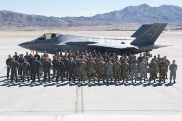 62nd FS gruppo aereo multinazionale F35