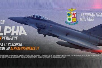 alpha experince concorso simulatore eurofighter aeronautica militare