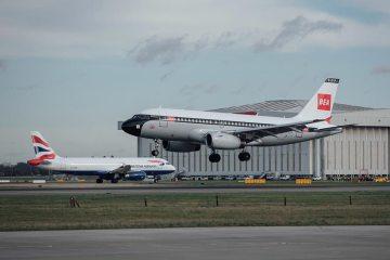 British Airways A319 BEA special color