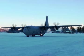 Aeronautica Militare Norvegia C130J 2019