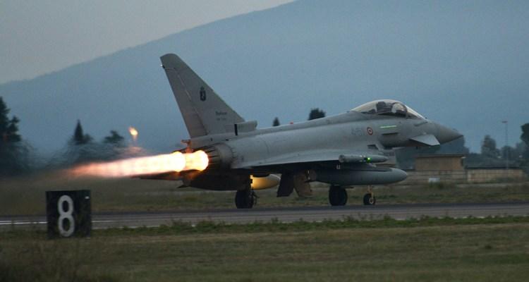 Scramble Eurofighter italiani