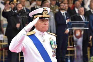 Ammiraglio Giuseppe Cavo Dragone CSM della Marina Militare