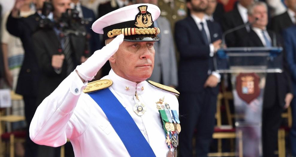 1f079e4c289 Ammiraglio Giuseppe Cavo Dragone nuovo Capo di Stato Maggiore della Marina  Militare