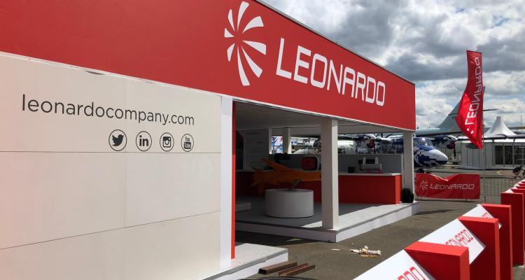 Leonardo al Paris Air Show Le Bourget 2019