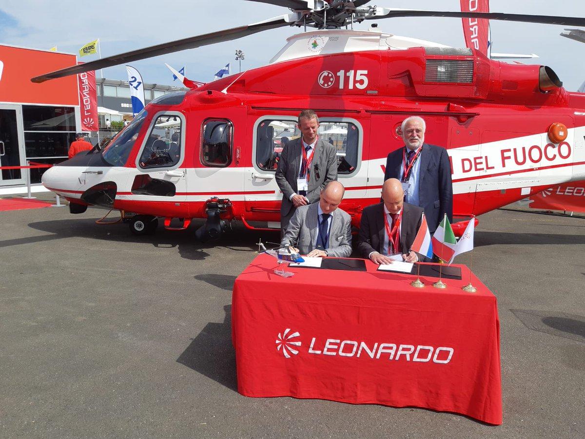 Leonardo AW139 Vigili del Fuoco