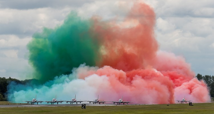 Frecce Tricolori al RIAT 2019