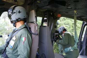 elicottero SAR Aeronautica Militare