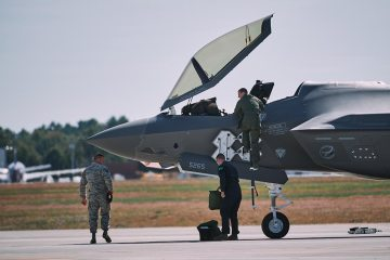 US Air National Guard Vermont F-35A