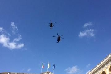 Passaggio degli HH-139 in servizio al 15 Stormo