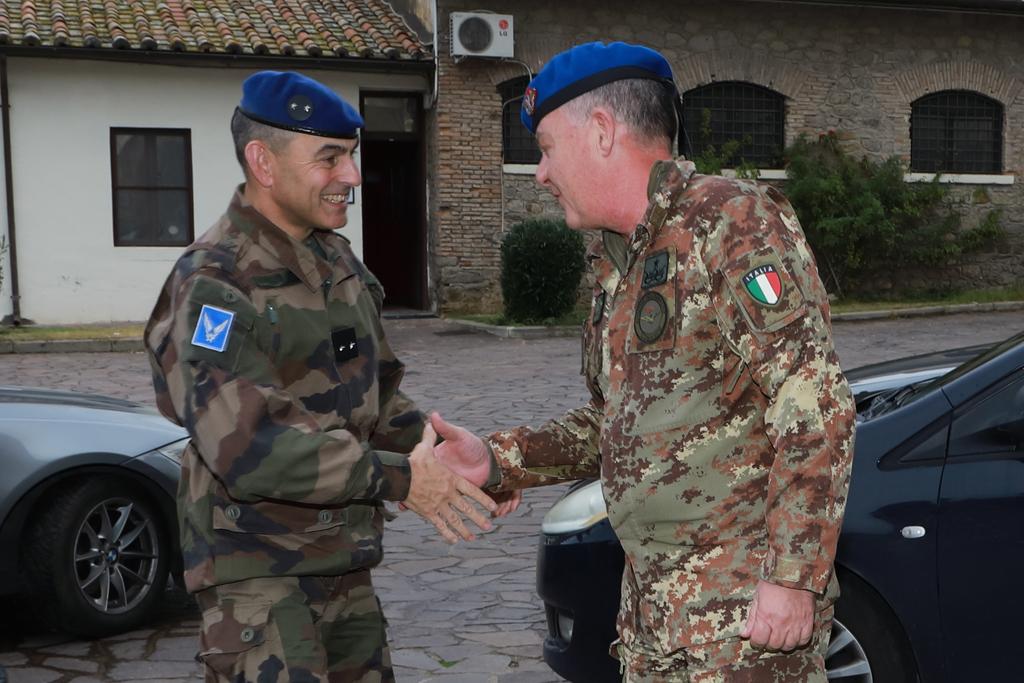 Arrivo Comandante ALAT Francese a Viterbo