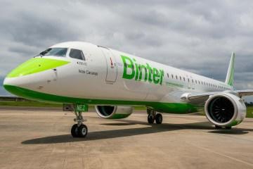 Embraer E195-E2 Binter Canarias