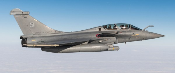 Dassault Aviation Rafale F3-R pod Talios