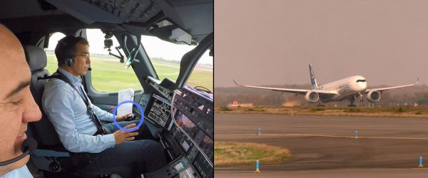 Airbus demonstrates first fully automatic vision based take off
