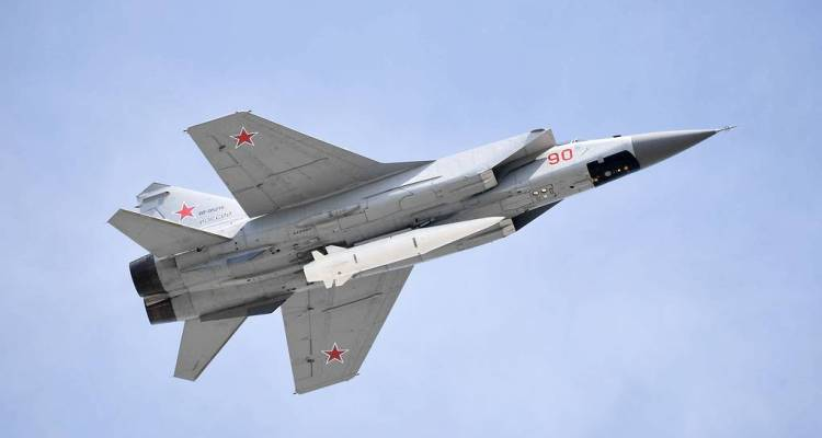 Mig-31K Russian Air Force