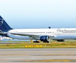 Boeing Blue Panorama