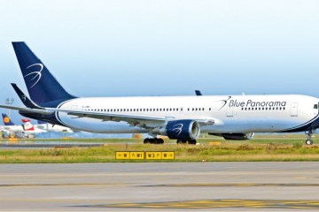 Boeing Blue Panorama