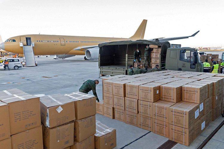 Airbus A330-MRTT Unloading