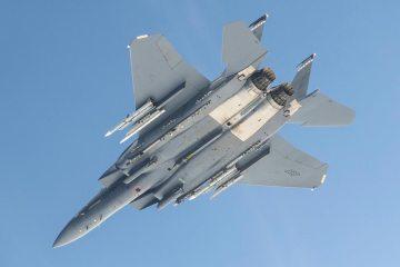 F-15E Strike Eagle missile AMRAAM