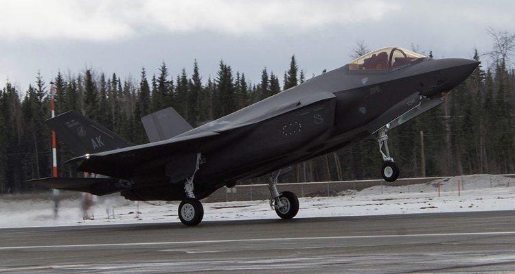 USAF F-35A Alaska Eielson AFB