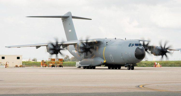 A400M MSN104 primo volo