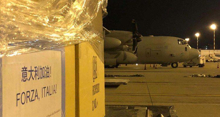 C-130J Hercules Aeronautica Militare trasporti sanitari coronavirus