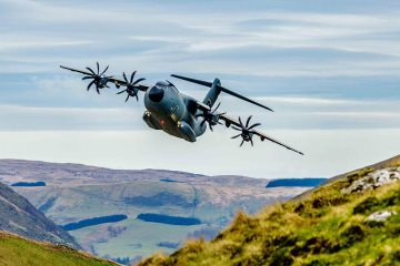 A400M Low Level Flights Scott Norbury