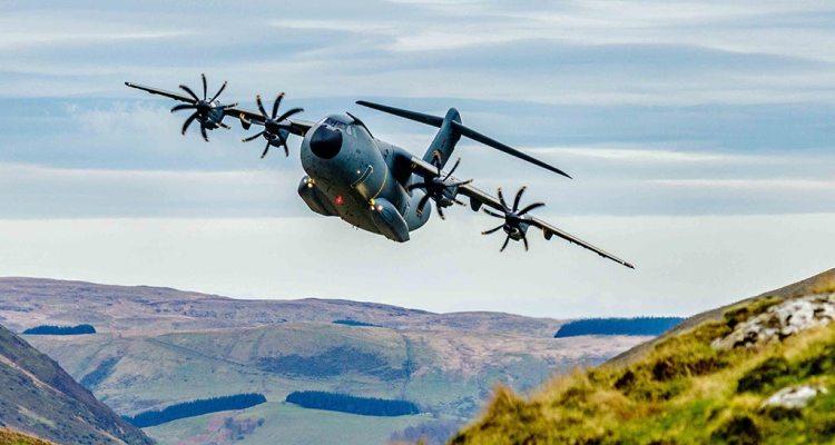 A400M Low Level Flights Scott Norbury