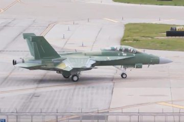 F-18 Super Hornet Block III primo volo