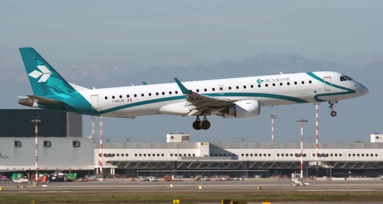 I-ADJO Embraer Air Dolomiti