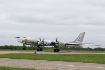 bombardieri strategici russi Tupolev TU-95MS Russian Air Force